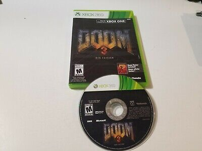 Doom 3 -- BFG Edition (Microsoft Xbox 360, 2012) great, tested & Free shipping