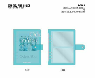 Seventeen 2019 World Tour Ode To You Goods Trading Photo Card Photocard Binder