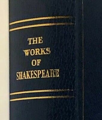 The Complete Works Of William Shakespeare Oxford Press W Slipcase