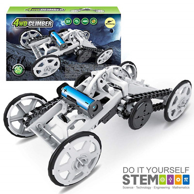 Mochoogle STEM Electric Mechanical Assembly Model Building Toys Kit - DIY for -