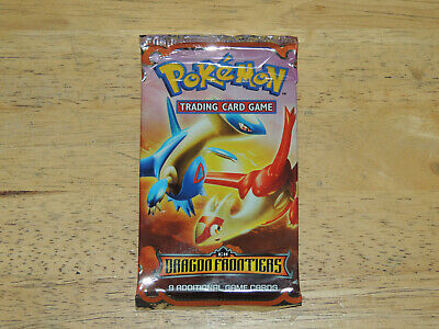 no box 2006 Pokemon EX Dragon Frontiers Booster Pack SALAMENCE /& DRACO artwork