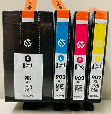 New Genuine HP 902XL BC Ink Cartridges OfficeJet 6962 OfficeJet 6979