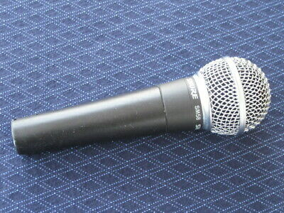 used Shure SM58 microphone (just the mic) NO pouch, NO clip, NO cable (SM58LC)