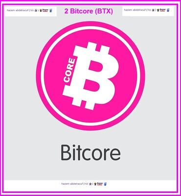 2 Bitcore (BTX) Crypto MINING-CONTRACT (2 BTX)