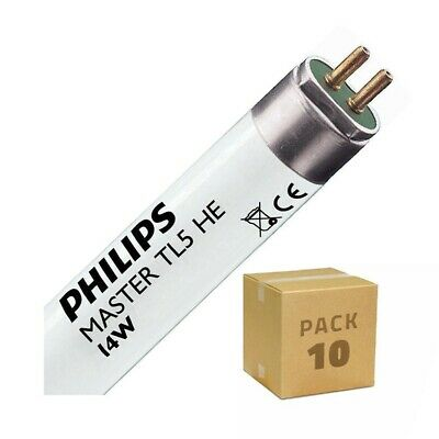 Pack Tubo Fluorescente Regulable PHILIPS T5 HE 550mm Conexión dos Laterales 14W