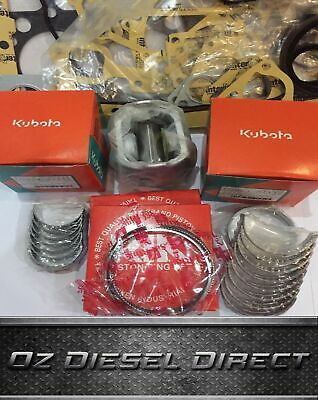 D950 New Overhaul Rebuild kit for Kubota D950