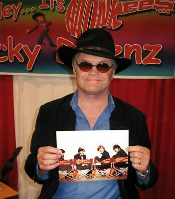 MICKY DOLENZ DIRECT! DIRECTORS CHAIRS 8x10 (#8) SIGNED 2U BY MICKY! The MONKEES
