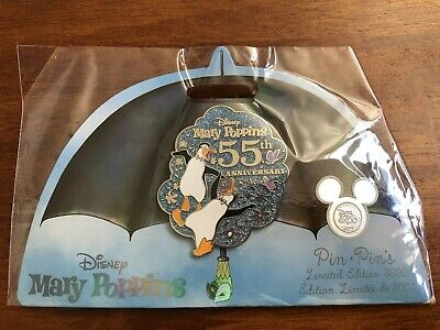 2019 Disney D23 Expo Exclusive - Mary Poppins 55th Anniversary Pin LE 3000