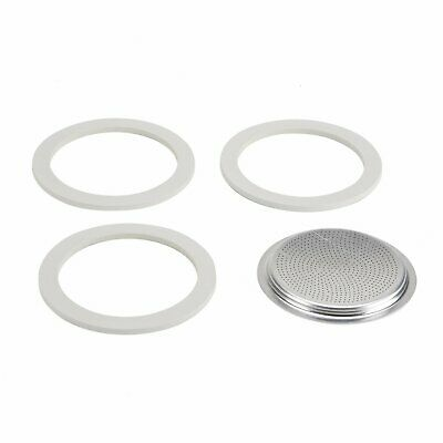 Bialetti 9 cup set - 3 Seals 1 Filter