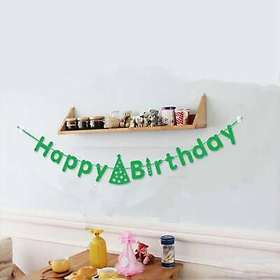 Happy Birthday Banner Flag Bunting Garland Party Letters Decoration FW