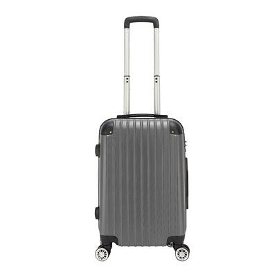 "20"" Waterproof Spinner Luggage Trolley Travel Business Suitcase Rolling Wheels"