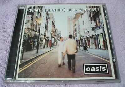 Oasis (What's the Story) Morning Glory? CD original 1995 VG+