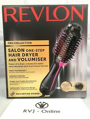 Genuine REVLON Pro Collection Salon One Step Hair Dryer and Volumiser