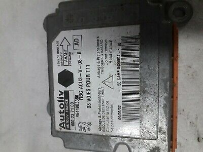 Module airbags 9644903380 -Peugeot Citroën Ford Mazda 1.4 hdi 68cv 50 kw Moteur