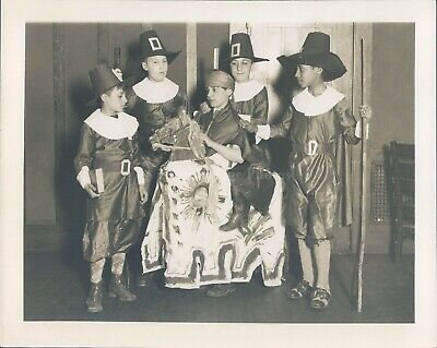 Image result for children in pilgrim costumes for plays