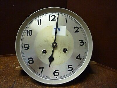 Original German Art Deco Striking Wall Clock Spring Driven Movement+Dial (Z11)