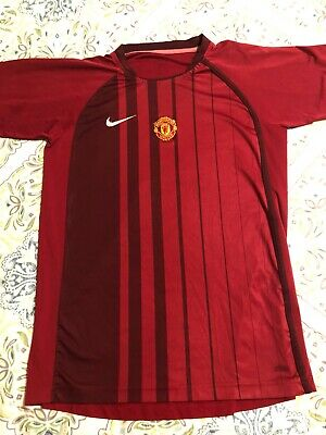 Nike Manchester United Football Soccer Club Jersey Small FREE SHIPPING