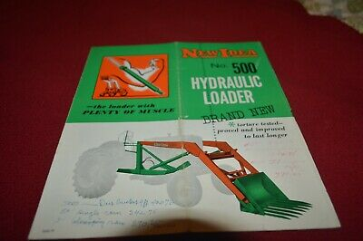New Idea 500 Hydraulic Loaders Dealer's Brochure AMIL15