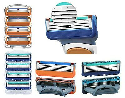 Mens  Razor Blades Replacement Cartridges For Gillette Fusion 5 Uk