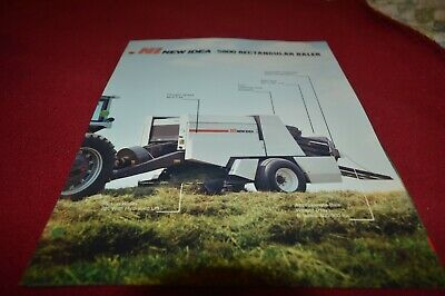 New Idea 5800 Rectangular Baler Dealer's Brochure AMIL15