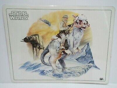 """1982 Star Wars Icarus Postermat Laminated 16"""" X 12""""  Excellent  (B38)"""