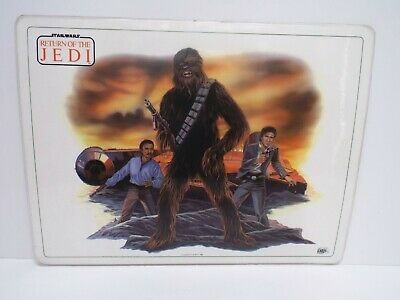 """1982 Star Wars Icarus Postermat Laminated 16"""" X 12""""  Excellent  (B40)"""