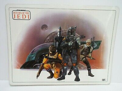 """1982 Star Wars Icarus Postermat Laminated 16"""" X 12""""  Excellent  (B42)"""