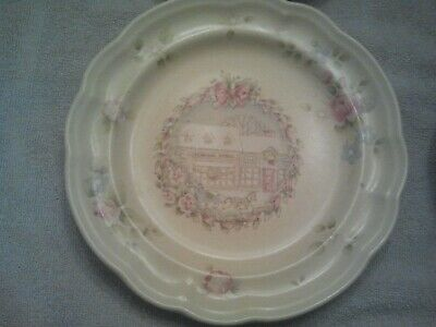 Pfaltzgraff Tea Rose Holiday Luncheon Dinner Plate General Store buy the piece