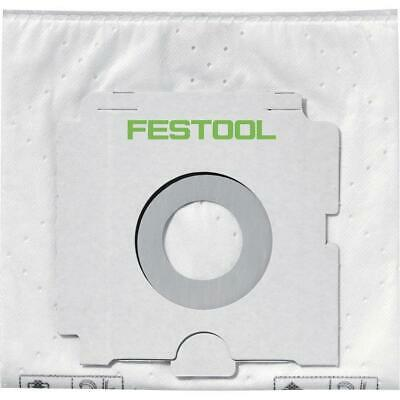 Festool SELFCLEAN Filter Bag SC FIS-CT SYS/5, Set Of 5 Pieces