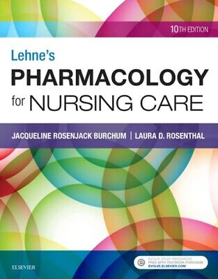 [PÐF] Lehne's Pharmacology for Nursing Care 10th Edition by Burchum