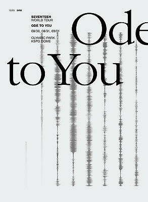 Seventeen 2019 World Tour Ode To You Official Goods Lanyard Set + Photocard New