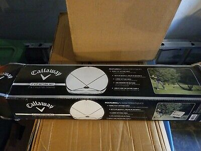 Callaway Golf 7'x7' Hitting Net Home Range Practice Indoor Outdoor
