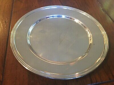 "National Silver Plate on Copper Set of 13.... 6"" Salad/Desert Plates"