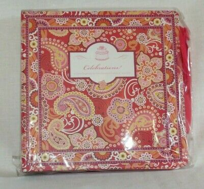 Vera Bradley Celebrations Card Organizer #5185 Cover B NIP