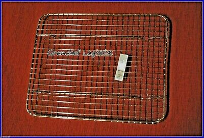 "Pan Grate / Cooling Rack w/ built in feet  ~  8"" x 10"" ~ 4 Roasting Meats  ~ New"