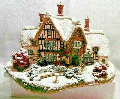 "Lilliput Lane ""Country Living In Winter"" L2438 Ex Retail Shop Stock Retired"
