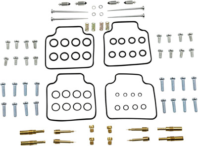 Parts Unlimited Carburetor Full Repair Kit with OEM Jet Sizes 1003-1418