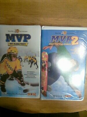 MVP: MOST VALUABLE Primate (VHS, 2001, Clamshell) Free Shipping!