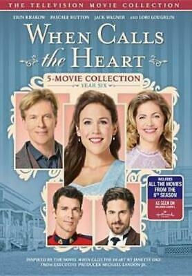 WHEN CALLS THE HEART: YEAR SIX (Region 1 DVD,US Import,sealed.)