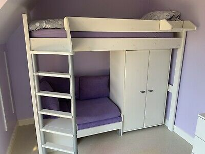 Astonishing Stompa Casa High Sleeper Bed With Pull Out Sofabed And Camellatalisay Diy Chair Ideas Camellatalisaycom