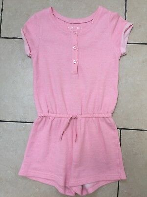 Next Girls Pink Playsuit Short Tracksuit All In One Bedtime 6 Years