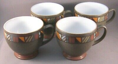 Denby Marrakesh Coffee Cups - Set of 4 - English Ironstone