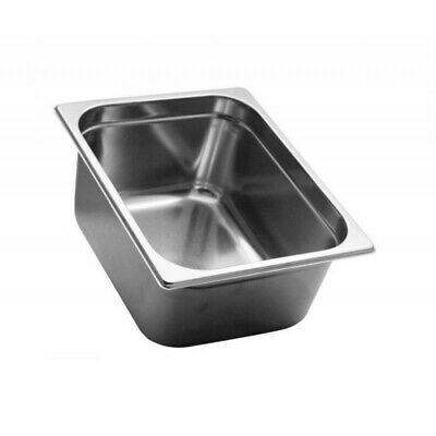 Pan Gastronorm Containers Stainless Steel Gn 1/2 Height 15 CM