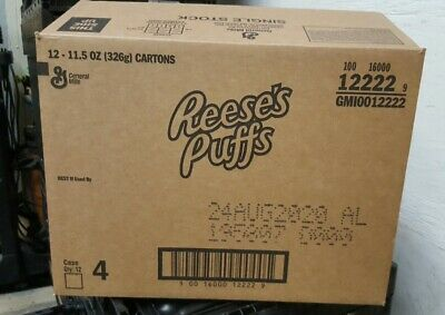 CASE OF 12 New Limited Travis Scott X Reeses Puffs Cereal boxes SOLD OUT RARE!