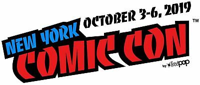 Sold Out New York Comic Con NYCC 2019 SATURDAY October 5th Ticket Badge Verified
