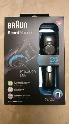 Braun BT5050 Beard Trimmer Hair Clipper Washable Rechargeable Xmas