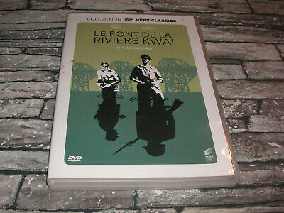 Le Pont de la Riviere Kwai - William Holden Alec Guinness    // DVD GUERRE