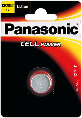Panasonic Litio Bottone Cr 2032