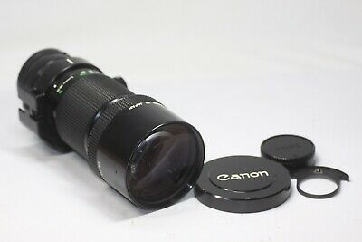 Canon New FD NFD 300mm F/4 MF Lens Made In Japan