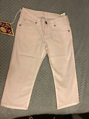 Girls White Replay Jeans Brand new Tagged 2 x Sizes.